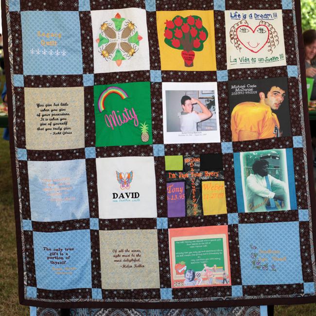 eye bank, legacy, quilt, eye donor, memorial